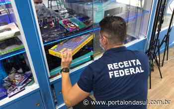 POUSO ALEGRE | Operação apreende cerca de R$ 1 milhão em mercadorias importadas de forma irregular - Portal Onda Sul