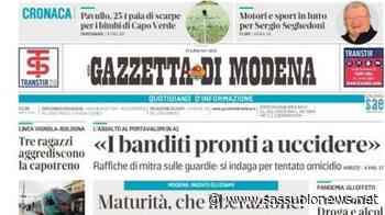 """Gazzetta di Modena: """"Sassuolo, scatta l'era Dionisi. Firma sul contratto biennale"""" - Sassuolonews.net"""