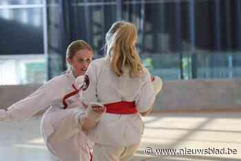 Karatekas's van Ookami Dojo trainen terug binnen