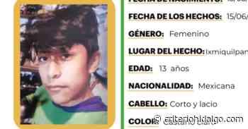 Activan Alerta Amber en favor de Rodrigo de la Cruz Cruz, se extravió en Ixmiquilpan - Criterio Hidalgo