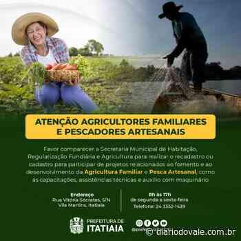 Pescadores e agricultores de Itatiaia são convocados para... - Diario do Vale