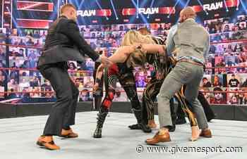 WWE RAW: Insane brawl breaks out between Rhea Ripley and Charlotte Flair - GIVEMESPORT