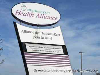 Chatham-Kent Health Alliance opens outdoor visiting area - Woodstock Sentinel Review