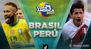 Perú vs Brasil: sigue la transmisión y el minuto a minuto por el debut en la Copa América 2021 - Diario Depor