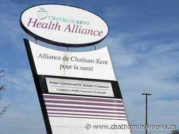 Chatham-Kent Health Alliance opens outdoor visiting area
