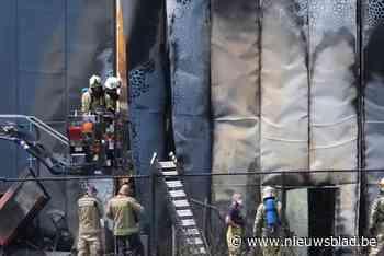 Schade aan bedrijfshal in Rotem beperkt tot wand na uitslaande brand