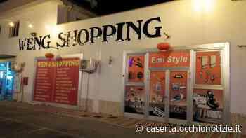 Dà fuoco al bazar cinese e scappa: caccia al piromane di Casagiove - L'Occhio di Caserta
