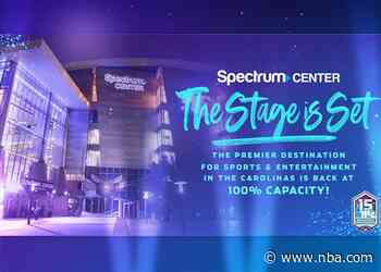 Spectrum Center To Reopen For Events At 100% Capacity