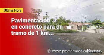 Alcalde de Puerto Tejada firmó convenio para pavimentar vía en Las Brisas – - Proclama del Cauca