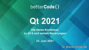 heise-Angebot: Cross-Plattform: Jetzt noch Tickets für die Konferenz zu Qt 6 buchen