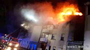 Zwei Großbrände in Alsdorf kurz hintereinander - Rheinland - Nachrichten - WDR Nachrichten