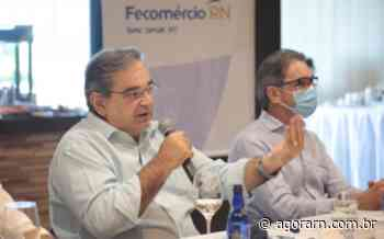Álvaro Dias participa de evento para discutir desenvolvimento socioeconômico de Natal - Agora RN