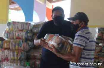 Prefeitura de Natal distribui 210 mil cestas básicas durante pandemia - Agora RN