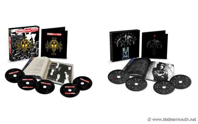 QUEENSRŸCHE Albums 'Operation: Mindcrime' And 'Empire' Due Next Week As Definitive Box Set Collections