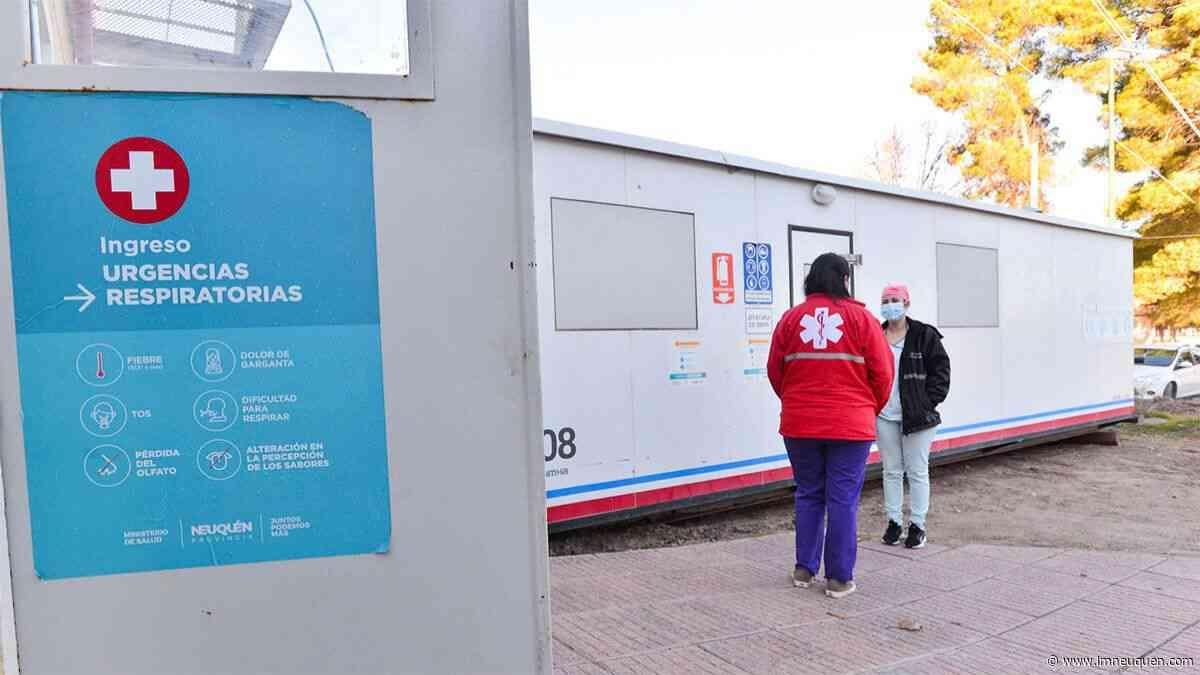 PAE sumó un tráiler de testeos al hospital de San Patricio del Chañar - LM Neuquén