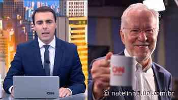 Colombo pediu para deixar quadro da CNN após Alexandre Garcia liderar lista sobre fake news - NaTelinha