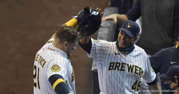 In defense of Brewers hitting coach Andy Haines