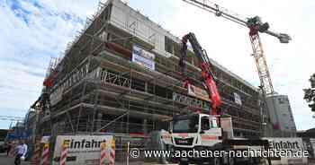 In eigener Sache: Richtfest für den Neubau des Medienhauses Aachen