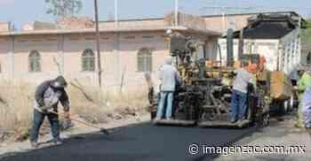 Pavimentan calles en Jalpa, invierten 1.5 mdp - Imagen de Zacatecas, el periódico de los zacatecanos