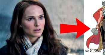 Thor Love & Thunder : le look de Natalie Portman en She-Thor a fuité - Hitek.fr