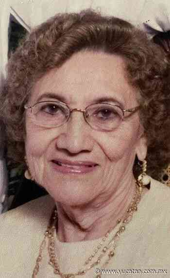 Obituario: Olga Noemí Barbosa Moreno viuda de Solís - El Diario de Yucatán