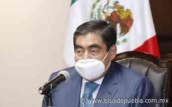Ley electoral funcionó bien: Barbosa ante poca publicidad de candidatos - El Sol de Puebla