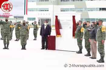 Reconocen militares a Barbosa por la construcción del complejo educativo en La Célula - 24 Horas El Diario Sin Límites Puebla