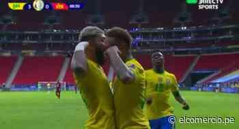 Venezuela vs. Brasil: la asistencia de Neymar y gol de Gabriel Barbosa para el 3-0 | VIDEO - El Comercio Perú