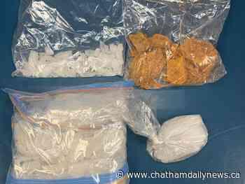 Police seize drugs worth $83K during traffic stop in Blenheim