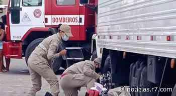 Homem é atropelado por caminhão em Linhares - Cidades - R7 Folha Vitória - HORA 7