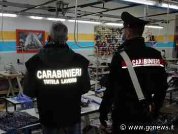 Blitz dei carabinieri in confezione a Montemurlo, 7 lavoratori clandestini: un arresto - gonews