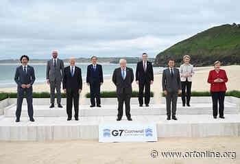 First G-7 Summit since the pandemic; nations barely show unity - Observer Research Foundation