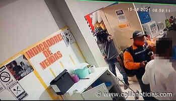 Bandidos rendem funcionários e assaltam loja da rede GBarbosa em Santaluz - Calila Notícias