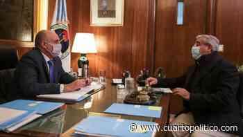 """Campana se reunió con Guerrera y destacó """"avances"""" para retomar obra de la nueva Terminal de Ómnibus - Cuarto Político"""