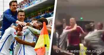 The truth behind Wales players' England v Iceland Euro 2016 celebrations
