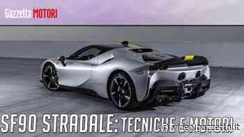 Ferrari SF90 Stradale, la supercar ibrida del Cavallino da 1000 Cv - La Gazzetta dello Sport