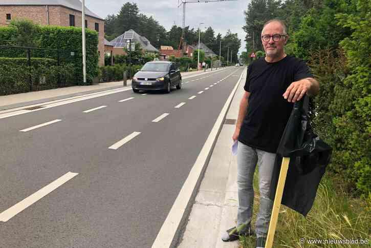 """Bewoners Dennendreef protesteren tegen 39 appartementen en extra verkeer: """"Konijnenberg moet beschermd worden"""""""