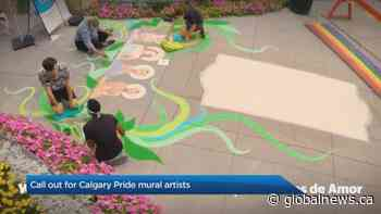 Shaw celebrates Calgary Pride with a downtown public art installation