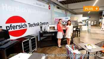 Firma Pfersich eröffnet Technikzentrum mit Eismaschinen und mehr - Augsburger Allgemeine