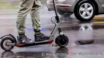 Polizei stellt getunten E-Scooter in Neu-Ulm sicher - Augsburger Allgemeine
