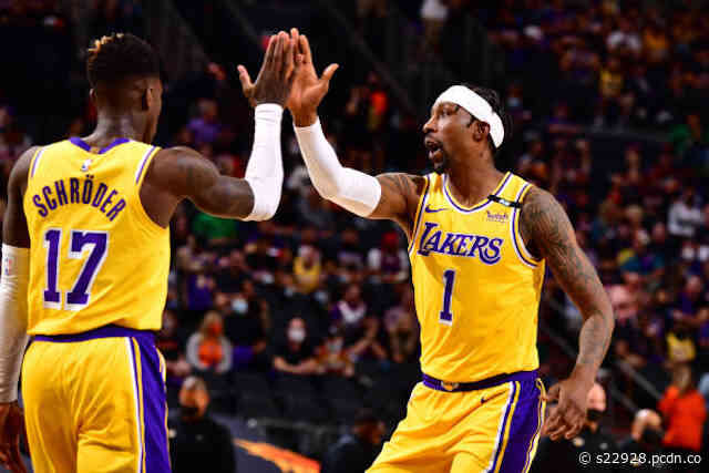 Kentavious Caldwell-Pope Praises Lakers Teammates For Fighting Through Adversity All Season