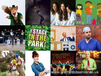 Stage in the Park: Cassiobury Park theatre line-up announced