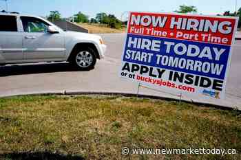 US jobless claims tick up to 412,000 from a pandemic low - NewmarketToday.ca
