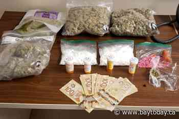 Police seize over $25K in suspected drugs, cash during traffic stop in Temagami