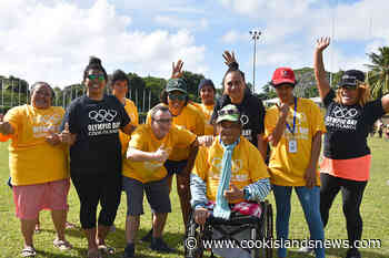 Smiles All Around at Ability Olympic Games - Cook Islands News