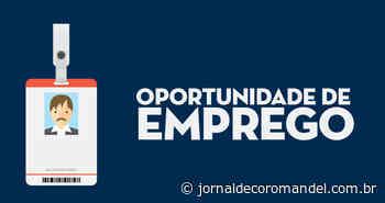 Oportunidade de emprego em Coromandel: Grupo Solyns contrata Auxiliar de Obras - Jornal de Coromandel