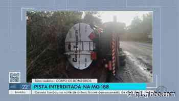PM libera rodovia em Coromandel, mas alerta que MG-188 voltará a ser interditada nesta quinta-feira - G1