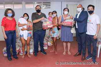 500 famílias são beneficiadas com kit alimentação em Gurupi - Portal do Amaral