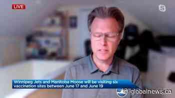 Winnipeg Jets and Manitoba Moose join vaccine push