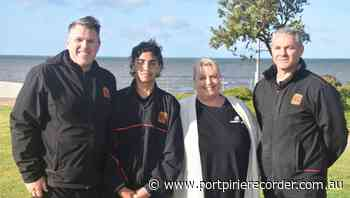 Clontarf lads get busy in Whyalla - The Recorder
